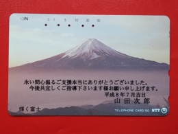 T-80 - JAPAN, TELECARD, MAGNETIC PHONECARD NTT - LANDSCAPE, 251-023, - Japon