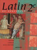 Latin En Séquences Seconde De Jacques Gason (2001) - 12-18 Ans
