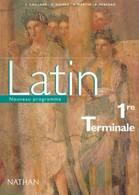 Latin Première Terminale De Collectif (2002) - 12-18 Ans