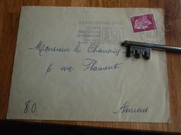 Enveloppe Timbrée De  1969    Au Chanoine D'AMIENS + Flamme - Caisse Nationale D'Epargne - Autres