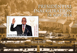 South Africa - 2014 Presidential Inauguration President Zuma MS (**) - Unused Stamps
