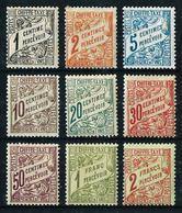 Túnez (Francés) Nº Tasa-26/34* Cat.21€ - Tunisia (1888-1955)