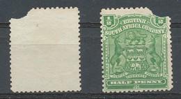 GRANDE BRETAGNE - AFRIQUE DU SUD (Compagnie Britanique)Armoirie 1/2p Vert 1898-1908 N°57 -  Oblitere - New Republic (1886-1887)