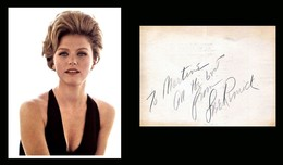 LEE REMICK  († 1991)  AUTOGRAPHE Certificat D'authenticité - - Autographes