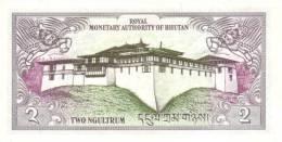 BHUTAN P. 13 2 N 1986 UNC - Bhoutan