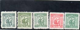 CHINE CENTRALE 1949 SANS GOMME - Chine Centrale 1948-49
