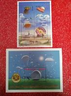 Blocs Parachutes. +vietnam+grenada - Transport