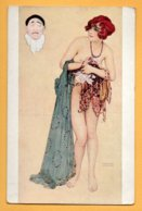 Illustrata - L'Avarice Serie: Les Pèches Capitaux, Par Raphael Kirchner - Kirchner, Raphael