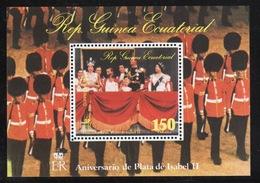 Equatorial Guinea 1978 Mini Sheet To Celebrate The 25th Anniversary Of The Coronation. - Equatorial Guinea
