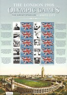 Gran Bretagna, 2008 CS2 Lo Stadio Olimpico Del 1908, Smiler, Con Custodia, Perfetto - Personalisierte Briefmarken