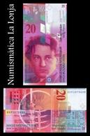 Suiza Switzerland 20 Francs 2005 Pick 69d Sign 3 SC UNC - Suiza