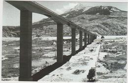 Savines Mars 1961 Le Pont Qui Enjambe Le Futur Lac De Serre -ponçon - France