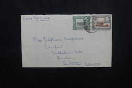 KENYA / OUGANDA / TANGANYIKA - Enveloppe Pour Le Royaume Uni En 1952, Affranchissement Plaisant - L 54028 - Kenya, Uganda & Tanganyika