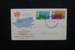 GIBRALTAR - Enveloppe FDC En 1966 - ONU - L 54029 - Gibraltar