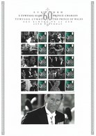 Gran Bretagna, 2008 CS3 60° Compleanno Del Principe Carlo, Smiler, Con Custodia, Perfetto - Personalisierte Briefmarken