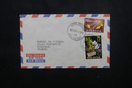 MALAISIE - Enveloppe De Kota Bharu Pour La France En 1963 , Affranchissement Plaisant - L 54033 - Malaysia (1964-...)