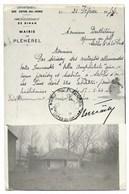 22-SABLES-D'OR-LES-PINS-CARTE PHOTO-Villa AMPHITRITE, Avenue Du Golf...1944 Texte Historique RARE - France