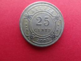 Belize  25 Cents  2003  Km 36 - Belize