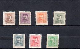CHINE ORIENTALE 1949 SANS GOMME - Chine Orientale 1949-50