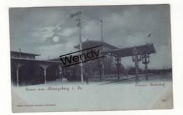 Königsberg (Cranser Bahnhof) - Pologne