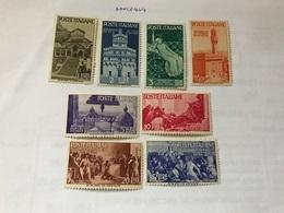 Italy Republican History 8v Mnh 1946 - 6. 1946-.. Republic