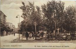 Spagna 08 - Soria - Jardines Y Calle Del Marques Del Vadillo - Autres