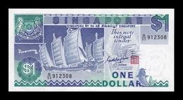 Singapur Singapore 1 Dollar 1987 Pick 18a SC UNC - Singapore