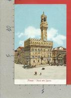 CARTOLINA NV ITALIA - FIRENZE Piazza Della Signoria - Ed. Gabbato Venezia - 9 X 14 - Firenze (Florence)