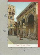 CARTOLINA NV ITALIA - FIRENZE La Loggia Dell'Orgagna - Ed. Gabbato Venezia - 9 X 14 - Firenze (Florence)