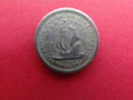 East Caraibes  10 Cents  1955  Km 5 - Territoires Britanniques Des Caraïbes