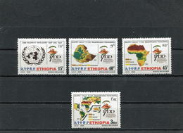ETHIOPIA 2006 Desertificaton Vulnerability.MNH. - Ethiopie