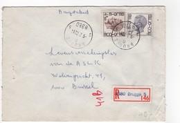 Aangetekende Brief Brugge 5 B 5 - Enteros Postales