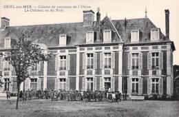 62 - CRIEL Sur MER Colonie De Vacances De L'UNION - Le Chateau Vu Du Parc - CPA Village ( 2.720 H ) Pas De Calais - Criel Sur Mer