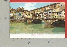 CARTOLINA NV ITALIA - FIRENZE Ponte Vecchio - Ed. Gabbato Venezia - 9 X 14 - Firenze (Florence)