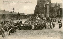 TANNAY. Inauguration Du Monument Le 17 Juillet 1921 - Francia