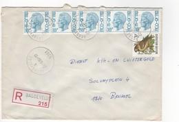 Aangetekende Brief Bassevelde A - Enteros Postales