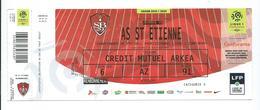 52 NC - Ticket Foot - LIGUE 1 -2019--2020 -  STADE BRESTOIS  - AS ST ETIENNE - 25 éme Journée  -  16 Février 2020 - Football