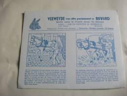 Buvard  Veeweyde Anderlecht Protection Des Animaux Cheval - Animals