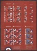 6x GIBRALTAR - MNH - Transport - Airplanes - Airplanes