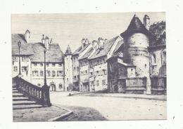 JC , Cp,  39 , DOLE , D'après Pointe Sèche Originale De Jean Baptiste De Colbert, 1899 ,vierge - Dole