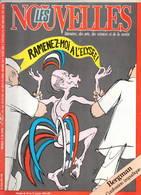 Cabu Giscard Les Nouvelles Littéraires N°2914 Janvier 1984  Très Bon état - Politique