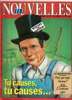 Martens Yves Montand Les Nouvelles Littéraires 1984 N°2915  Très Bon état - Politique
