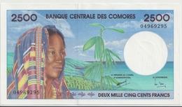 COMOROS P. 13 2500 F 1997 AUNC - Comores