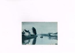 Audenarde Vue Sur L'Escaut S.B.P Ste An Belge De Phototypie Brux ,carte Postale Ancienne 1908.,Oudenaarde. - Oudenaarde
