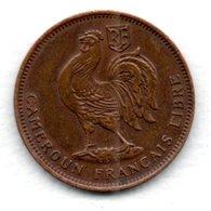Cameroun - 50 Centimes  1943  -  état  TTB - [2] 1931-1939: Zweite Republik