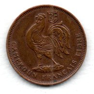 Cameroun - 50 Centimes  1943  -  état  TTB - [ 2] 1931-1939 : República