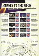 Gran Bretagna, 2009 CS4 40° Ann. Della Conquista Della Luna, Smiler, Con Custodia, Perfetto - Personalisierte Briefmarken