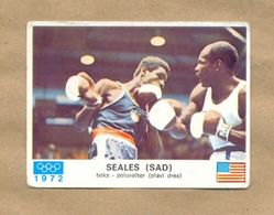 Olympic Games Munich 1972. Box Poluvelter, Seales U.S.A. -Yugoslavia, Sport Card - Kleding, Souvenirs & Andere