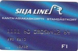 Finland Silja Line Card - Cartes D'hotel