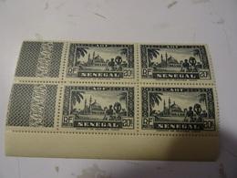 SENEGAL COLONIE En Bloc 20 Francs Neuf** MNH  1935 - Senegal (1887-1944)